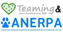 ¿Estás dispuest@ a privarte de UN EURO AL MES para ayudarnos a recuperar y rehabilitar cada vez más animales? Hazte Teamer. En Teaming tan sólo se dona un euro y se hace una vez al mes.